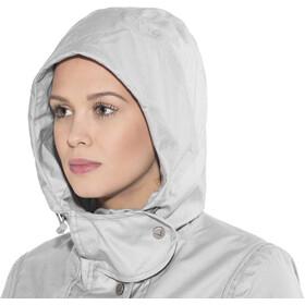 Finside Joutsen Veste zippée Femme, silver melange